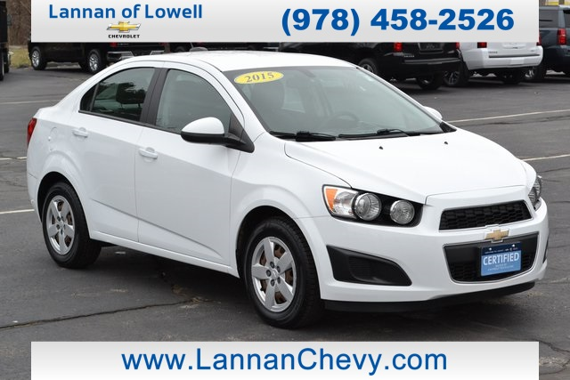 Certified Pre-Owned 2015 Chevrolet Sonic LS
