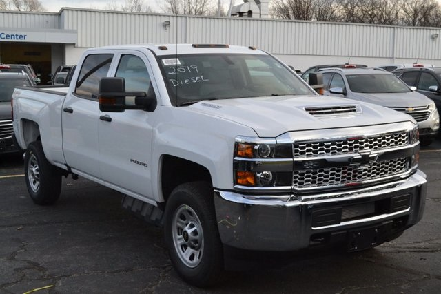 Chevy Work Truck >> New 2019 Chevrolet Silverado 2500hd Work Truck 4d Crew Cab 4wd