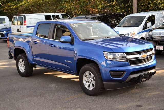 New 2020 Chevrolet Colorado Work Truck 4d Crew Cab 4wd