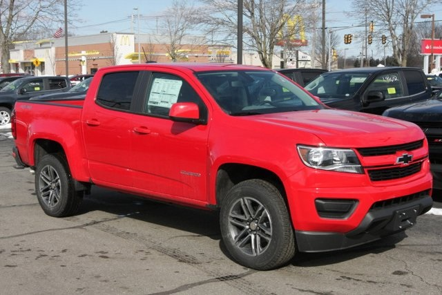 Chevy Colorado Crew Cab >> New 2019 Chevrolet Colorado Work Truck 4d Crew Cab For Sale Near