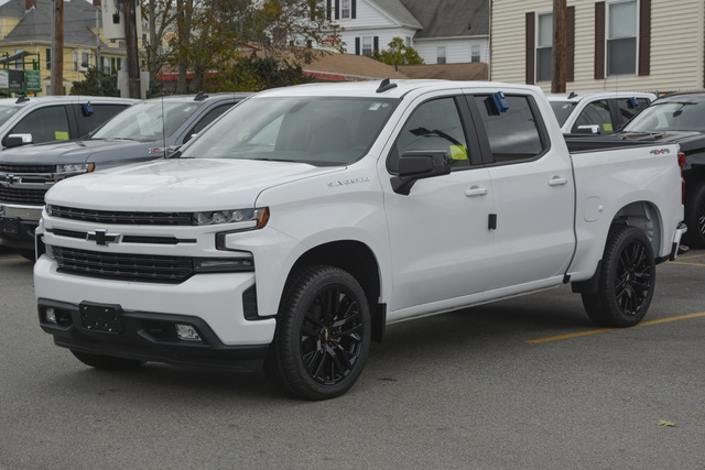 New 2019 Chevrolet Silverado 1500 Rst 4d Crew Cab For Sale Near