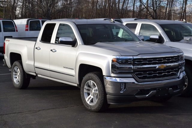 New 2017 Chevrolet Silverado 1500 LTZ Double Cab in Lowell ...