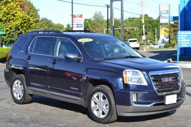 Pre Owned 2016 Gmc Terrain Sle 2 4d Sport Utility For Sale Near