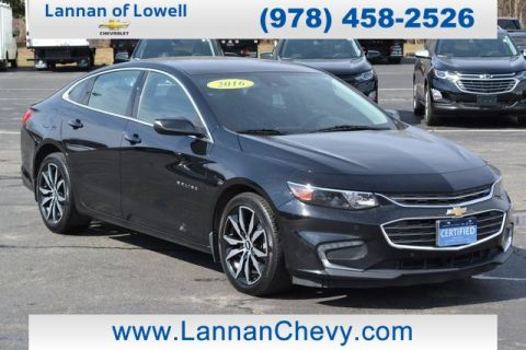 Certified Pre-Owned 2016 Chevrolet Malibu LT